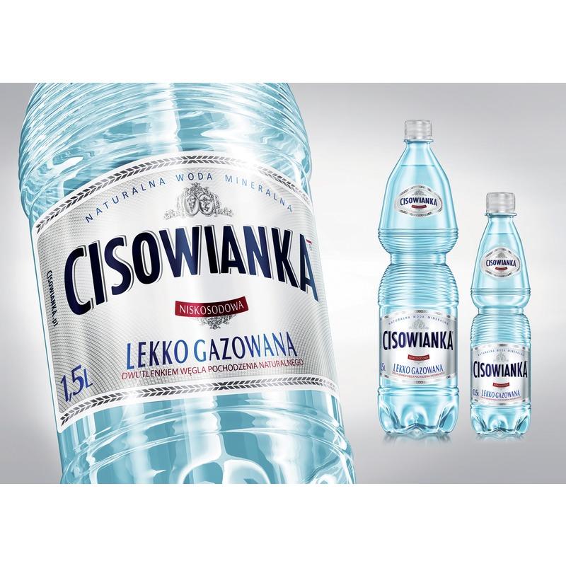 Woda Cisowanka, lekko gazowana / 1 / 5l, GNK0611