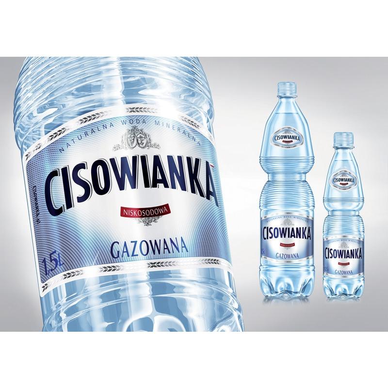 Woda Cisowanka, gazowana 0 / 5 L PET, GNK0580