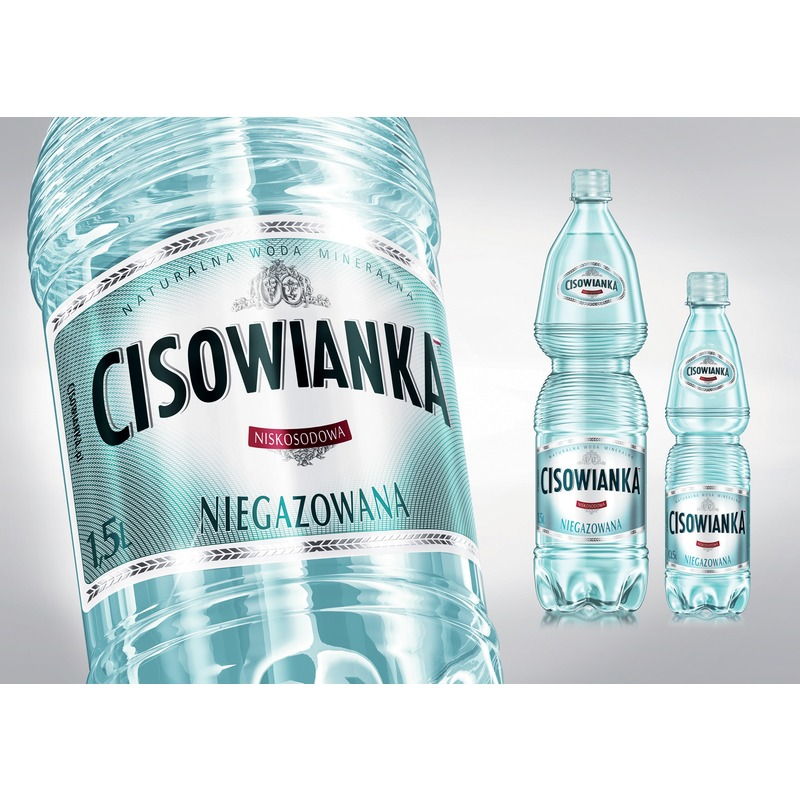 Woda Cisowanka, niegazowana 0 / 5 L PET, GNK0600