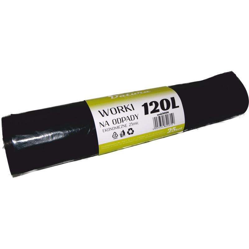 Worki LDPE EKO+ DATURA, 120 L / 25 szt., WOK9006
