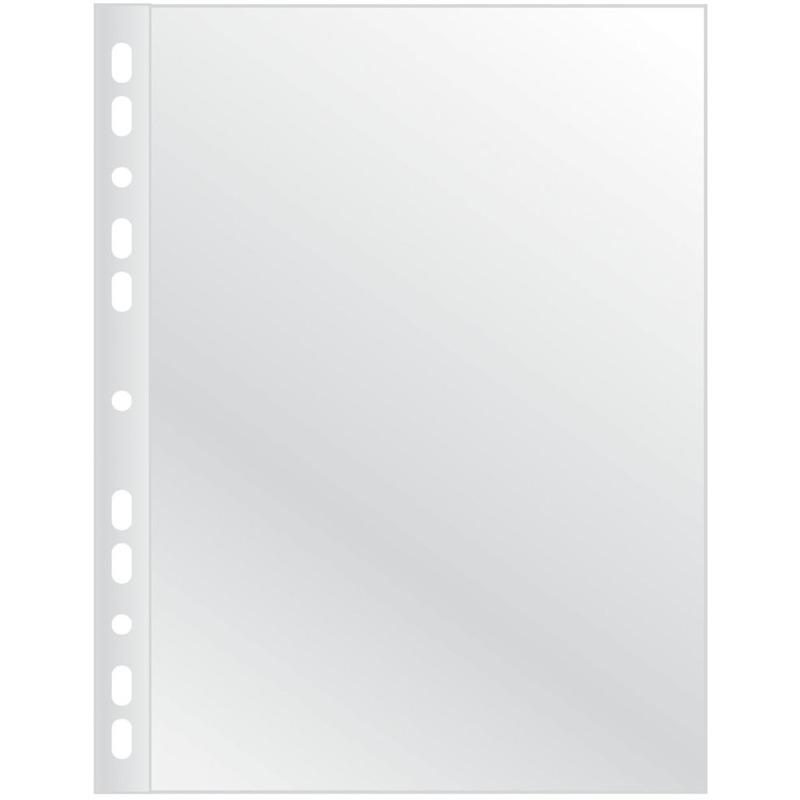 Koszulki na dokumenty Q-CONNECT, PP, A4, krystal, 75mikr., 100szt., KF14843