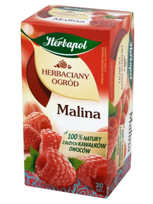 Herbata HERBAPOL HERBACIANY OGRÓD 20T, malina, GHK0432