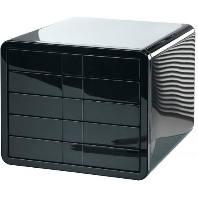 Zestaw 5 szufladek HAN iBox, ABS, A4, czarny, HN155113-01