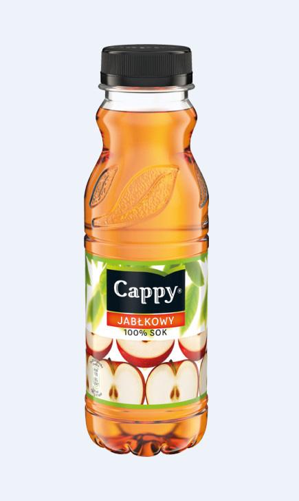Sok CAPPY 0,33 L, jabłkowy 100%, GNK0320