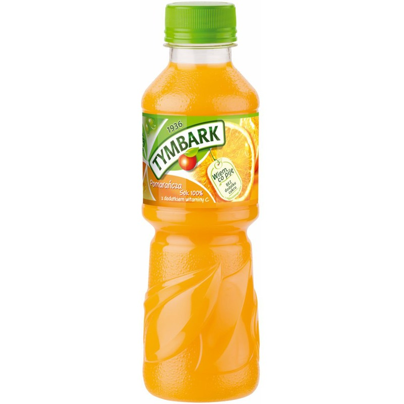 TYMBARK Sok 0.3 PET, Pomarańcza, GNK0690