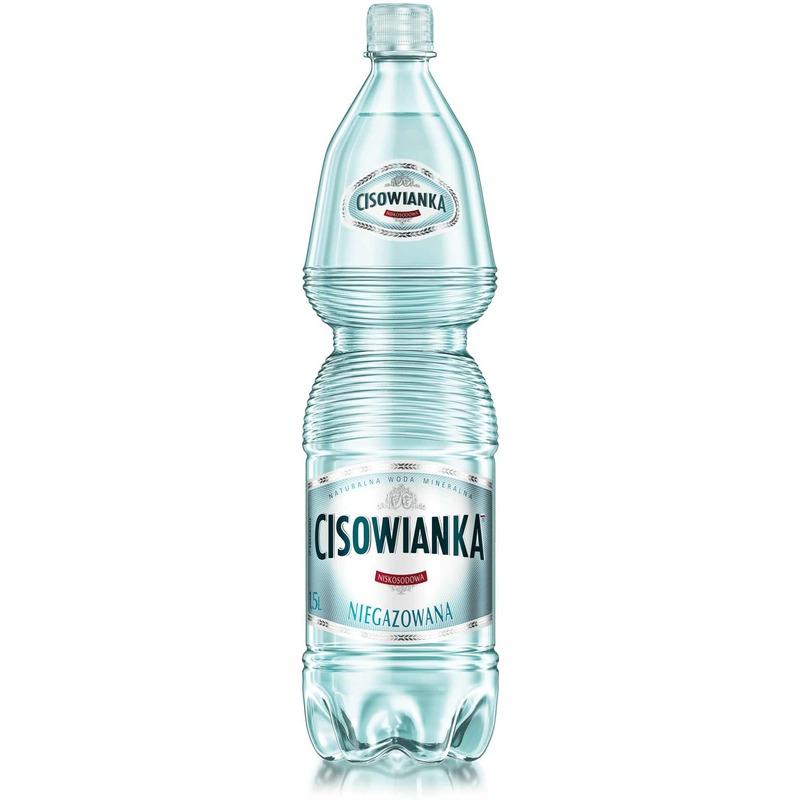 Woda Cisowanka, niegazowana 1 / 5 L PET, GNK0610