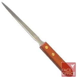 Nóż do kopert drewniany uchwyt w etui, NZ 0020060
