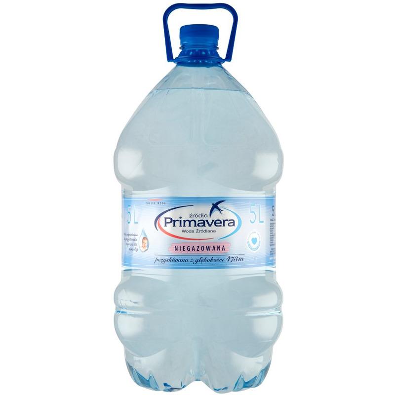 Woda PRIMAVERA 6L niegazowana, GN 0480233