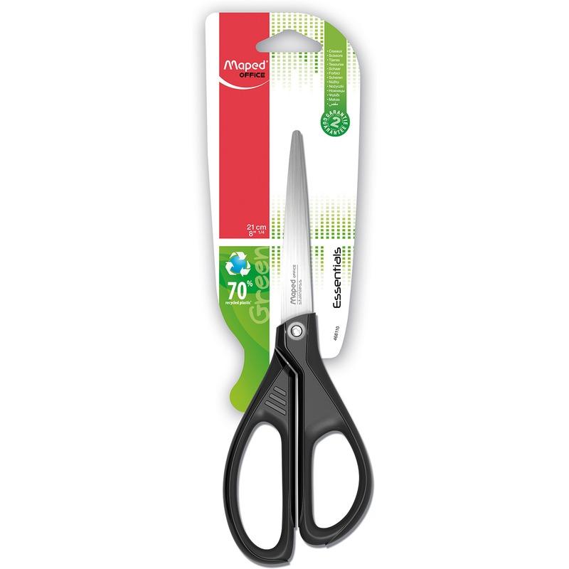 Nożyczki Ekologiczne Essentials Green, 21 cm, NZK0970