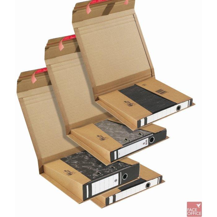 Uniwersalne opakowanie tekturowe brązowe HK do segregatorów 35-80 mm 320x290x35-80 / 365x300x-85mm, KPK3315070