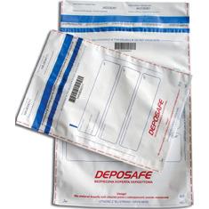 Koperty bezpieczne DEPOSAFE z kieszenią B5 wymiar zewnętrzny (200 x 255 mm) biała ( 100 szt.), 12-PSY-B5BP/100