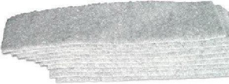 Gąbka magnetyczna NOBO, wkłady 10 sztuk, XSK0190