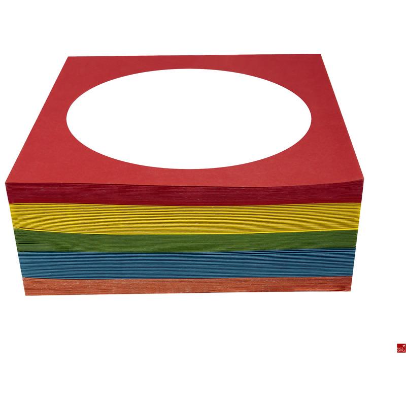 KOPERTY NA CD - Z OKIENKIEM - KOLOROWE PAK.100SZT 5053 Esperanza, KPK3400251