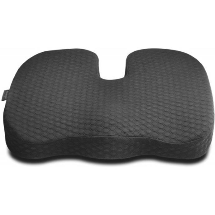 Poduszka na krzesło KENSINGTON Premium, żelowa, chłodząca, czarna, ACKK55807WW