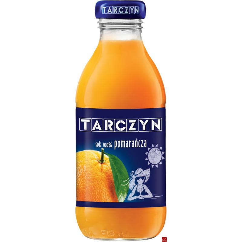 TARCZYN sok POMARAŃCZOWY 300ml butelka szkło, GN 0520233