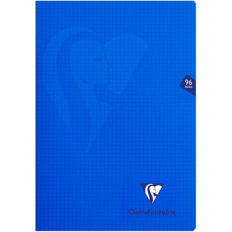 Zeszyt CLAIREFONTAINE Mimesys, w kratkę, 48 kart., 21x29,7cm, mix kolorów, CFN303162C
