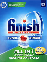 FINISH Tabletki All in 1, 52 lemon, HPK0802