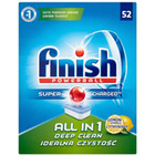 Tabletki do zmywarki FINISH All-in-one Powerball, 52szt., lemon