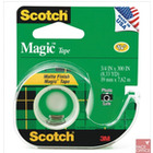 104 Taśma samoprzylepna Scotch® Magic™, matowa, na podajniku, 13mm x 11, 4m